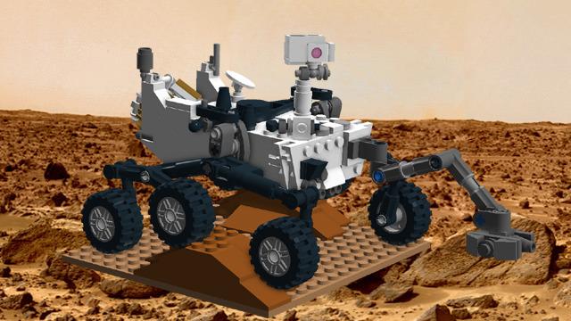 Imagen de LEGO® CUUSOO del rover Curiosity