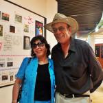 Don Mauricio y la señora Ivonne