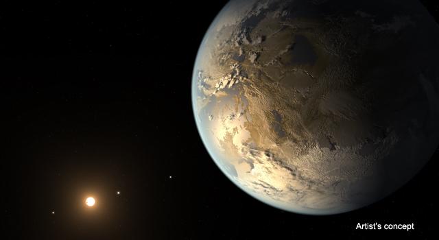 Imagen conceptual, cortesía de NASA Ames/SETI Institute/JPL-Caltech.