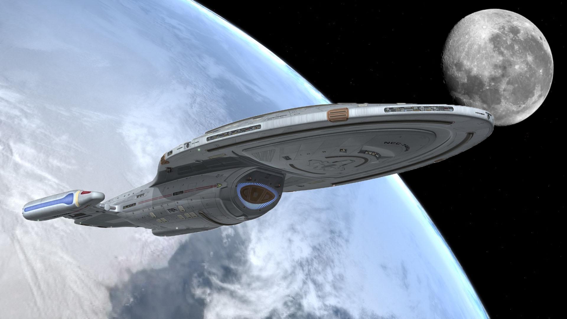 Oculus Rift Y Un Paseo Al Interior De La Uss Voyager De Star
