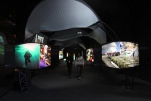 El Túnel de la Ciencia en Valparaíso. Cortesía de Conicyt.