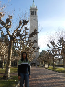 Ana en la Universidad de California, Berkeley
