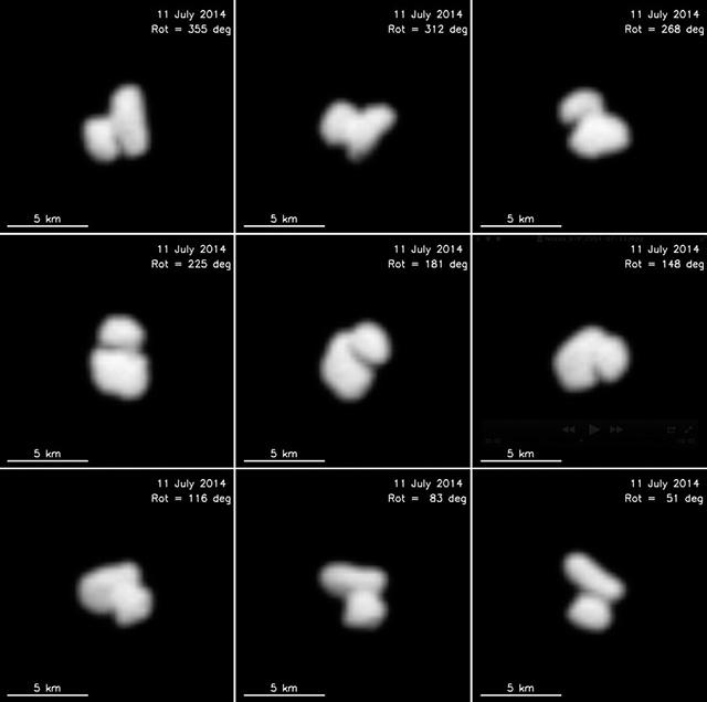 Créditos: ESA/Rosetta/MPS