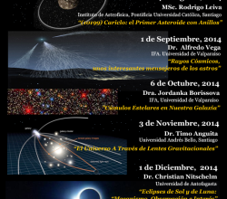 Charlas Astronomía