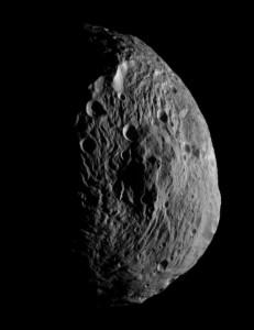 Vesta, imagen tomada el 18 de julio de 2011, a 10,500 km de distancia.