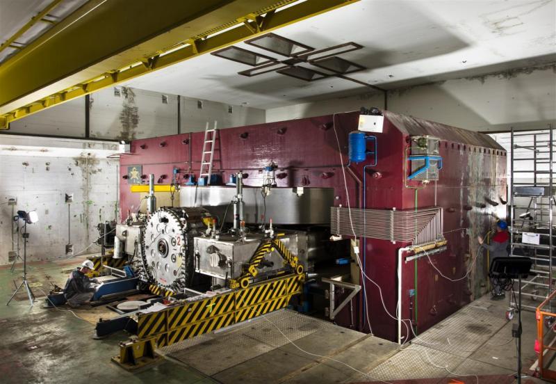 El SC, primera parada de nuestra visita al CERN. Créditos: CERN.