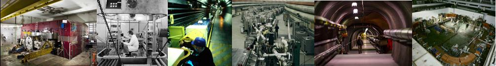 Imágenes de los aceleradores. Créditos CERN.