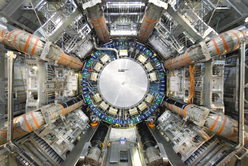 El experimento ATLAS. Créditos: CERN.