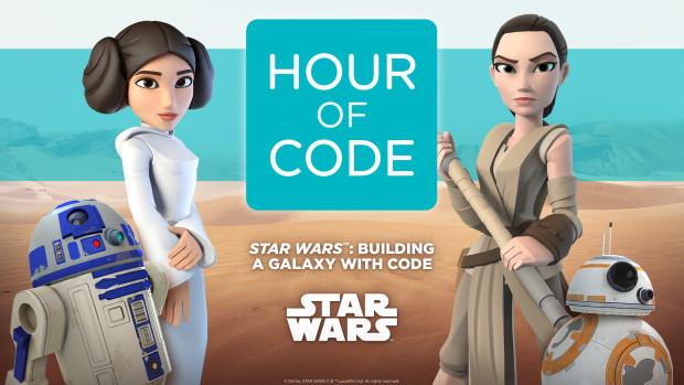 Créditos: Code.org y Disney