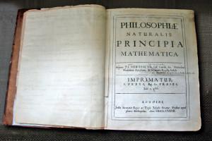 Copia propia de Newton de su Principia, con correcciones manuscritas para la segunda edición.