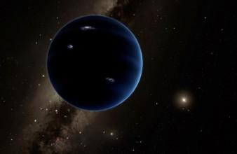 Imagen artística del planeta nueve. Créditos: Caltech/R. Hurt (IPAC).