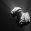 Imagen tomada por Rosetta, a 154 Km de distancia del cometa, el día 7 de Julio de 2015.