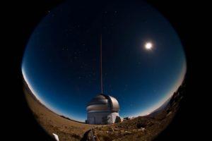 Telescopio Gemini Sur. (Imagen de gemini.edu)